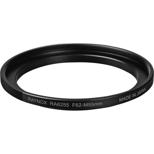 Raynox 62-55mm Step-Down Ring (Filter to Lens)
