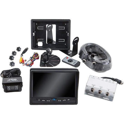 "Rear View Safety 480TVL Backup Camera System with 7"" Flush Mount Monitor"
