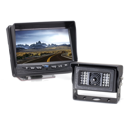 Rear View Safety RVS-770812N One Back-up Camera System with Built-In Heater