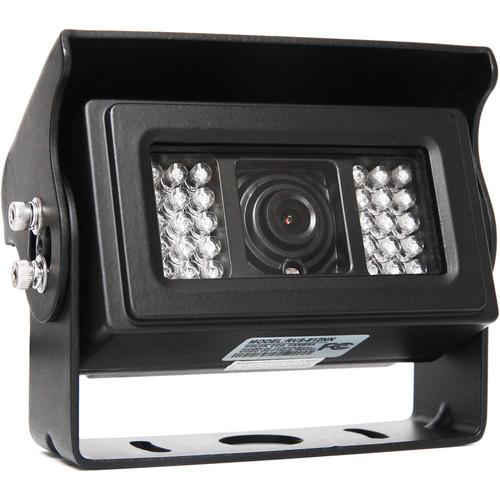 Rear View Safety RVS-812 120° Heated Camera with 28 IR Illuminators (RCA Connectors)