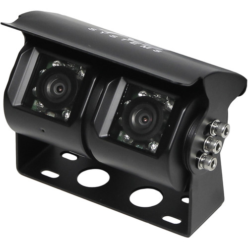 Rear View Safety RVS-813 Double Lens Backup Camera (RCA Connectors)