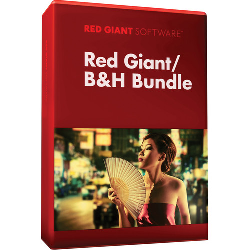 Red Giant B&H Video Production Software Bundle