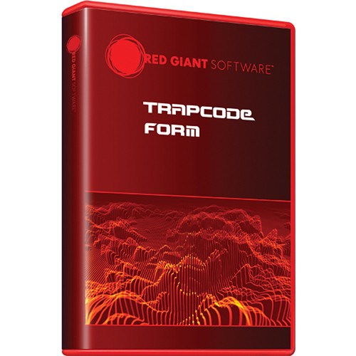 Red Giant Trapcode Form 3 (Download)