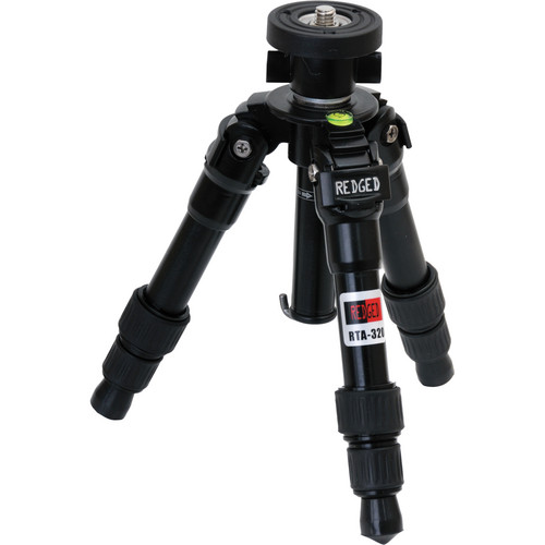 Redged RTA-320 Steady 3-Section Aluminum Macro Tripod