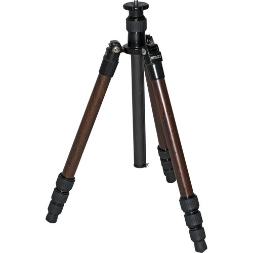 Redged TSC-424W Ultimate 4-Section Carbon Fiber Travel Tripod (Wood Finish)