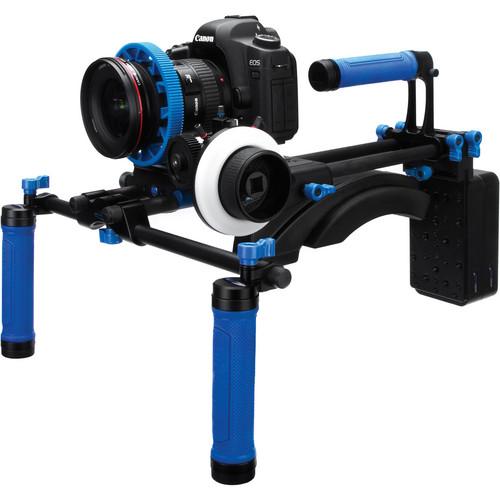 Redrock Micro DSLR Field Cinema Deluxe Bundle Black with Advanced microFollowFocus