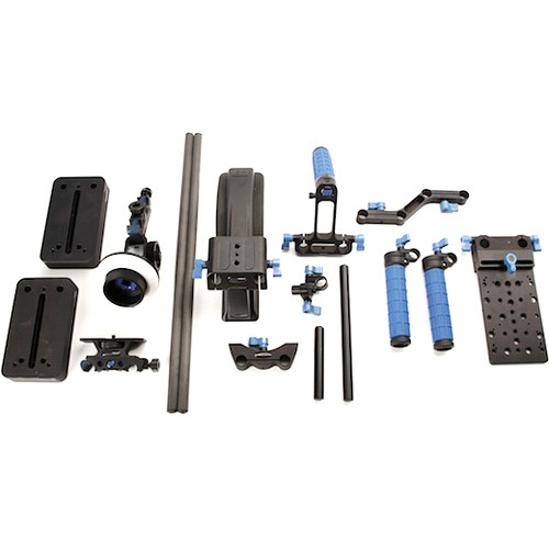 Redrock Micro Universal Shouldermount Bundle with microFollowFocus Black