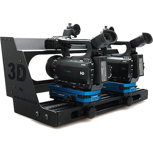 Redrock Micro 2-083-0001 Micro3D SxS Rig (With Shroud)