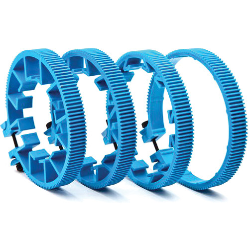 Redrock Micro microLensGears Kit - 4 Gears (Blue)
