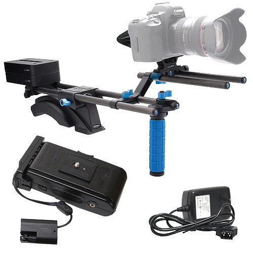 Redrock Micro eyeSpy Balance DSLR 2 Rig w/ Battery & Charger Kit for Canon 5D/7D