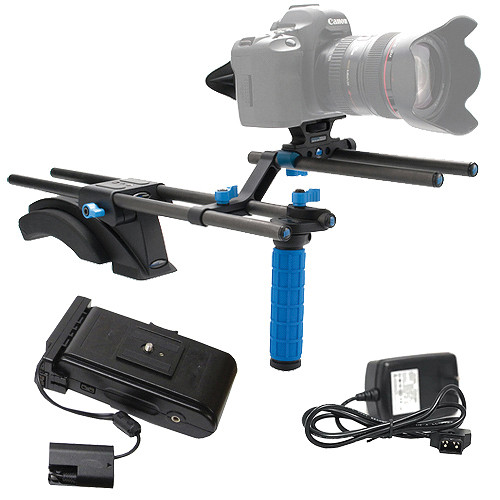 Redrock Micro eyeSpy Standard DSLR Rig w/ Battery & Charger Kit for Canon 5D/7D