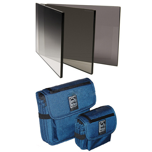 "Redrock Micro microFilter Set (4 x 5.65"") with Porta Brace Filter Case"