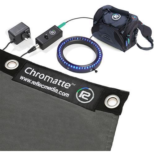 Reflecmedia Chromatte Medium Blue Light Ring Kit
