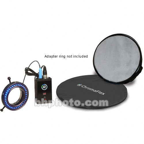 Reflecmedia Chromaflex Blue Kit with Bag - Medium - 7'