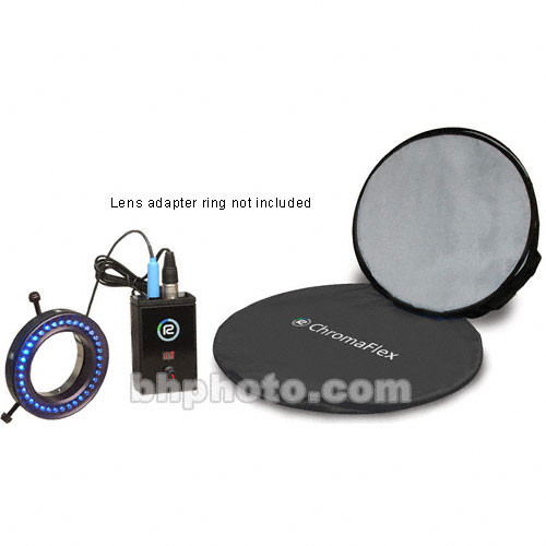 Reflecmedia Chromaflex Blue Kit with Bag - Small - 7' (Small - 72mm Internal Diameter)