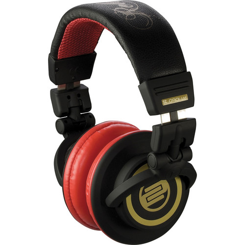Reloop RHP-10 Professional DJ Headphones (Cherry Black)