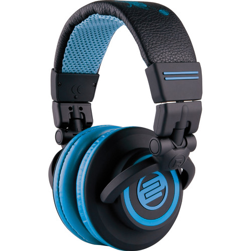 Reloop RHP-10 Professional DJ Headphones (Flash Black)