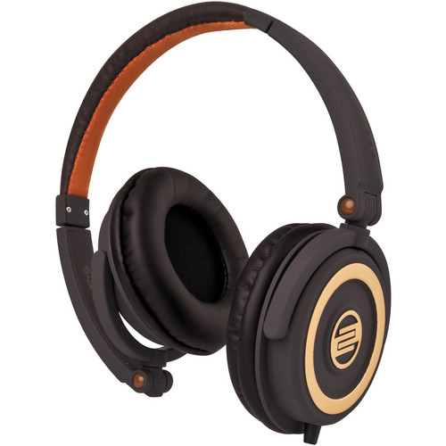 Reloop RHP-5 Chocolate Crown DJ Headphones w/ Smartphone Mic & Controls