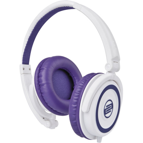 Reloop RHP-5 Purple Milk DJ Headphones w/ Smartphone Mic & Controls