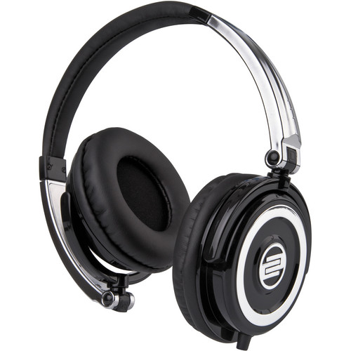 Reloop RHP-5 Solid Chrome DJ Headphones w/ Smartphone Mic & Controls