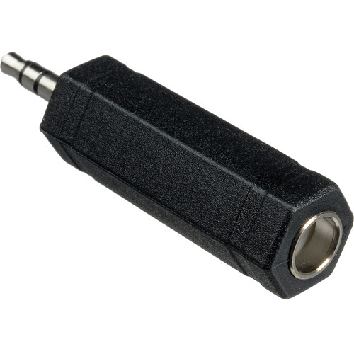 "Remote Audio 1/4"" Stereo Female to Stereo Mini Male Adapter"