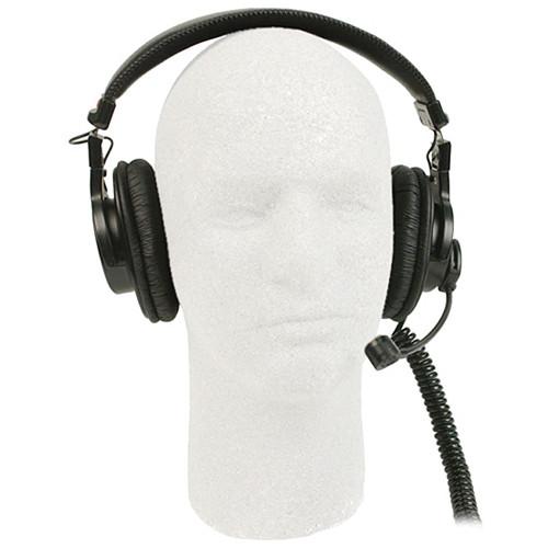 Remote Audio BCSHSDBC Communication Headset with Dynamic Boom Mic