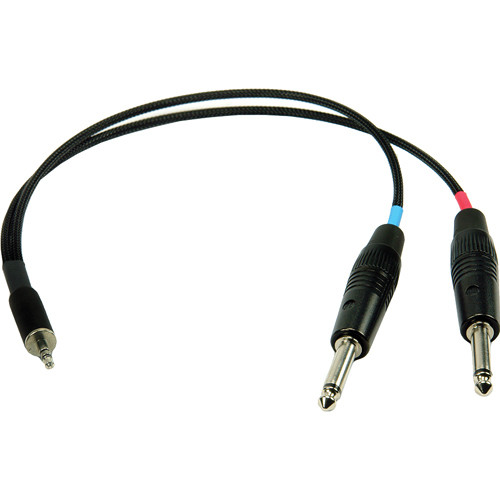 Remote Audio CAB-M1/4 Unbalanced Stereo Breakout Cable