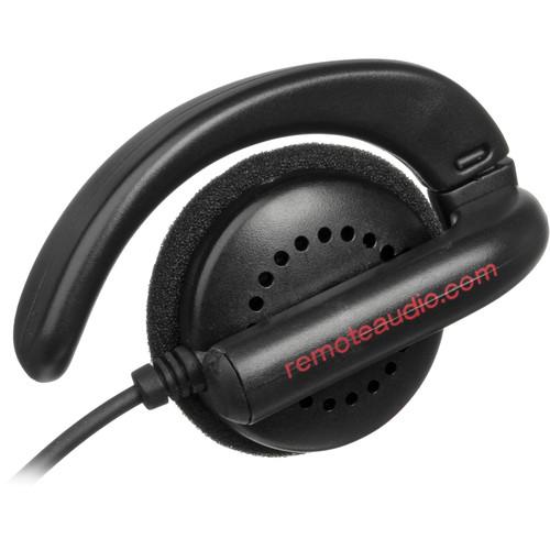 Remote Audio EAR BUD - Single Clip-On Earphone with Swiveling Ear Hook - 6-Pack