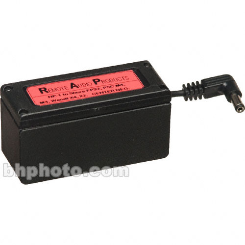 Remote Audio NP-1 Cup with Connection to Single-Pin Adapter
