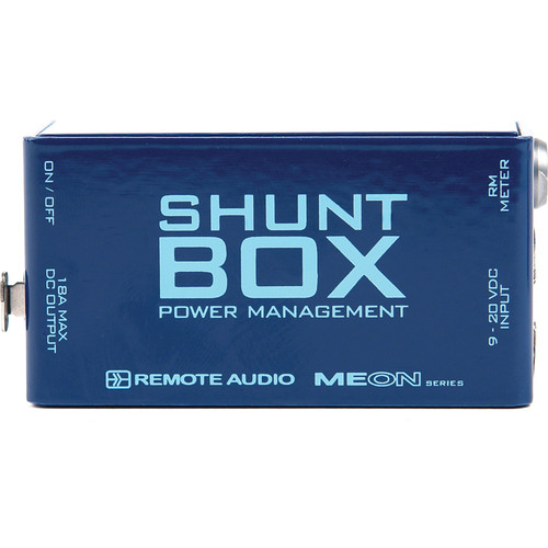 Remote Audio Shunt Box