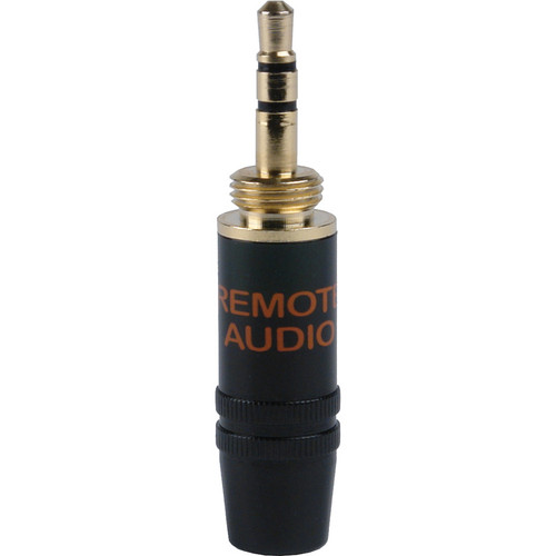 Remote Audio Sony Type 1/8 inch TRS Male Connector (Black)