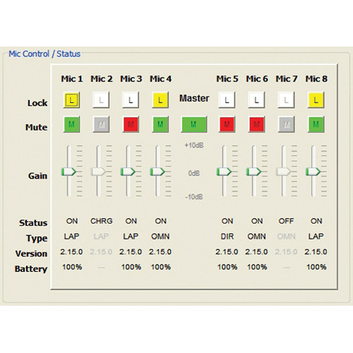 Revolabs HD Gold Control Panel Software for Windows