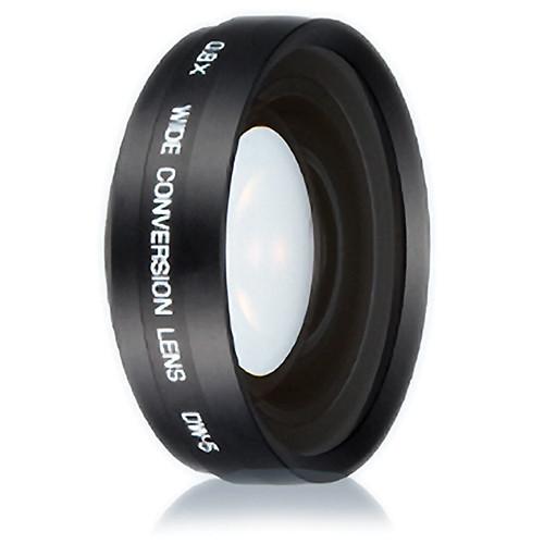 Ricoh DW-5 0.8x Wide Angle 22mm Conversion Lens (Black)