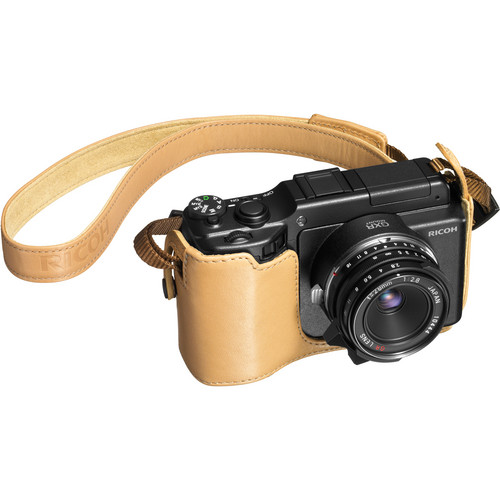 Ricoh SC-75B Soft Case for the GXR Mount A12 Camera (Base ONLY, Beige)