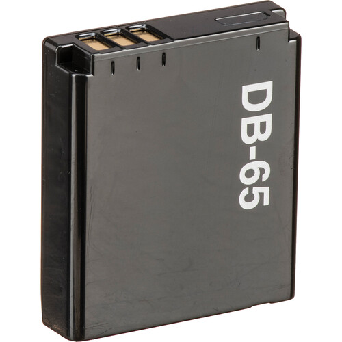 Ricoh DB-65 Li-Ion Rechargeable Battery