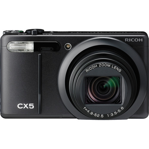 Ricoh CX5 Digital Camera (Black)