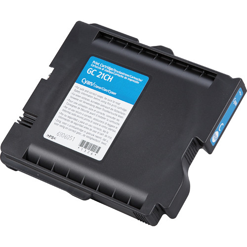 Ricoh High Yield Cyan Print Cartridge For GX7000