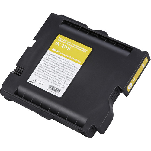 Ricoh High Yield Yellow Print Cartridge For GX7000
