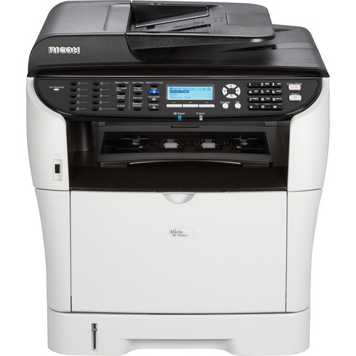 Ricoh Aficio SP 3500SF Network Monochrome All-in-One Laser Printer