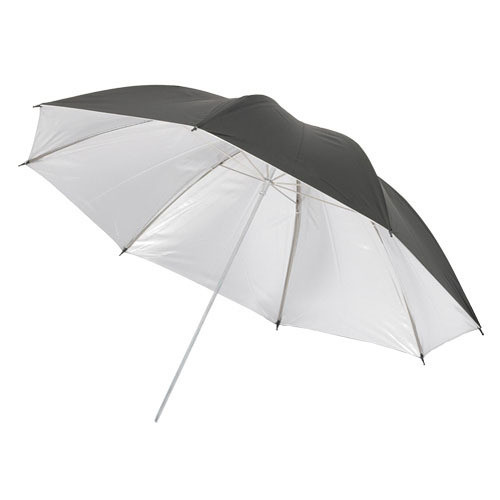 "Dynalite White Black / Silver Umbrella (44"" / 111.7 cm)"
