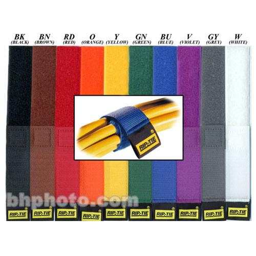 "Rip-Tie CableWrap 1 x 9"" (10 Pack) (Rainbow)"