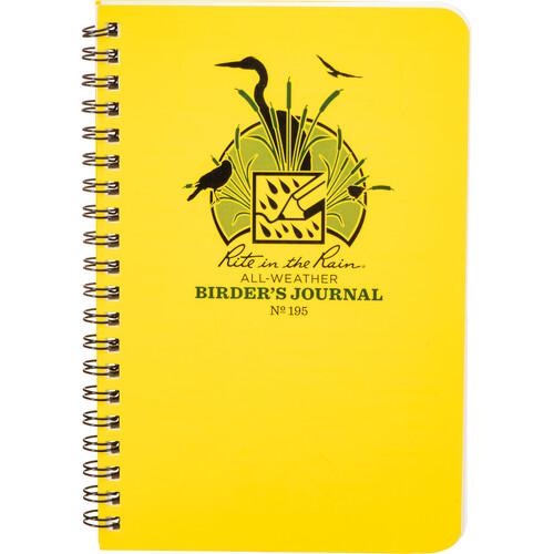Rite in The Rain All-Weather Birder's Journal