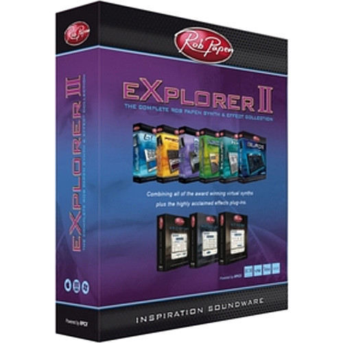 Rob Papen eXplorer II - Virtual Instruments and Effects Bundle
