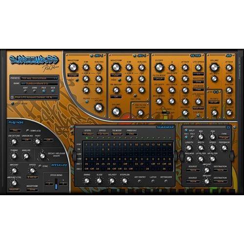 Rob Papen SubBoomBass Virtual Plug-in Instrument