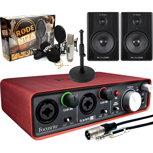 Rode NT2-A Voice Over Intermediate Bundle