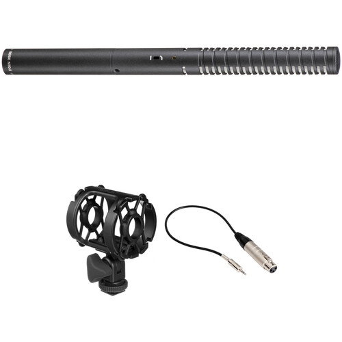 Rode NTG2 Shotgun Microphone Kit with Shockmount and XLR to 3.5mm Cable