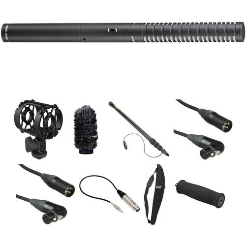 Rode NTG2 Shotgun Microphone HDSLR Location Recording Kit