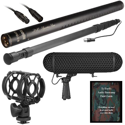 Rode NTG-3 B&H Signature Series Shotgun Microphone Kit (Ultimate)