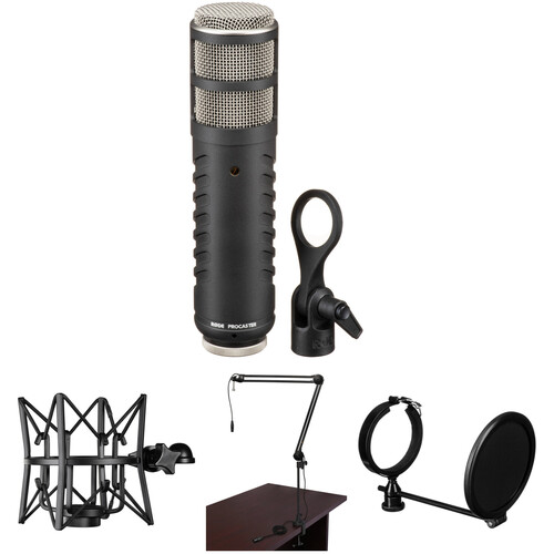 Rode Procaster Broadcast Microphone Studio Kit