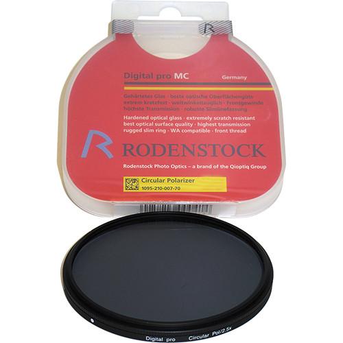 Rodenstock 55mm Circular Polarizer Digital pro MC Slim Filter
